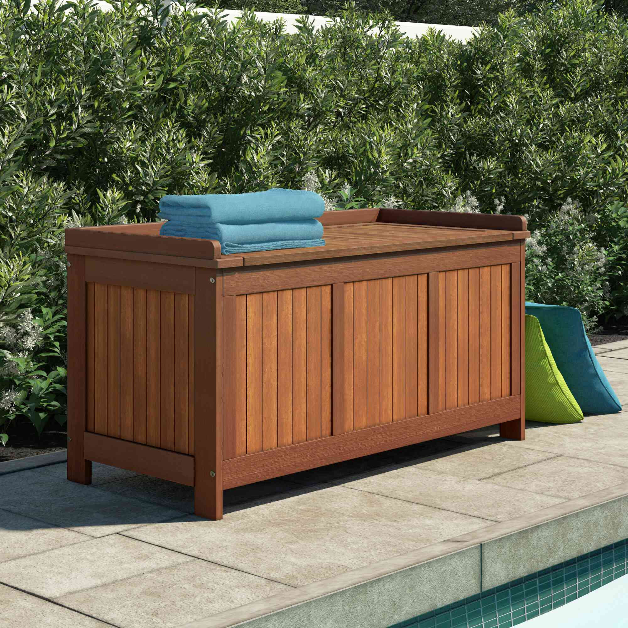 Sol 72 Outdoor Aanya Outdoor 65 Gallon Wood Deck B