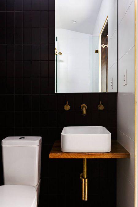 48 Beautiful Black Bathrooms Beauteous Black Bathroom