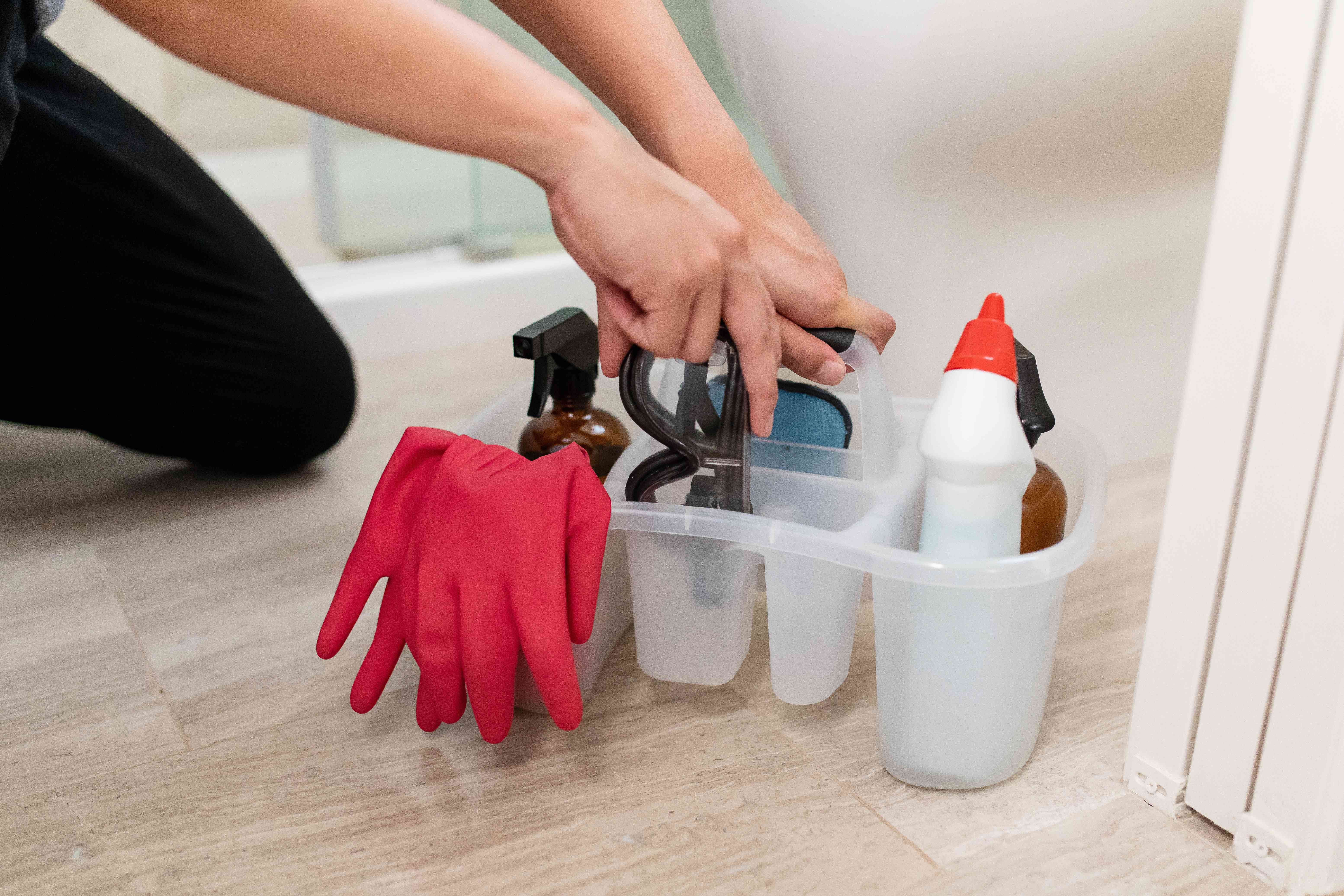 clean up and put tools away when finished