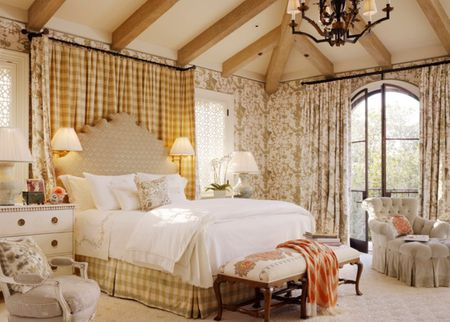 Traditional Color Schemes French Country Style Bedroom