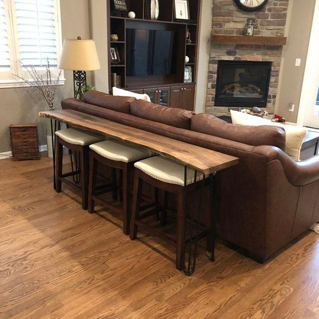 14 Sofa Table Ideas For Your Living Room - Behind Couch Sofa Table Decor Ideas