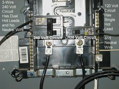 240 ac wiring how to install a 240 volt circuit breaker  how to install a 240 volt circuit breaker