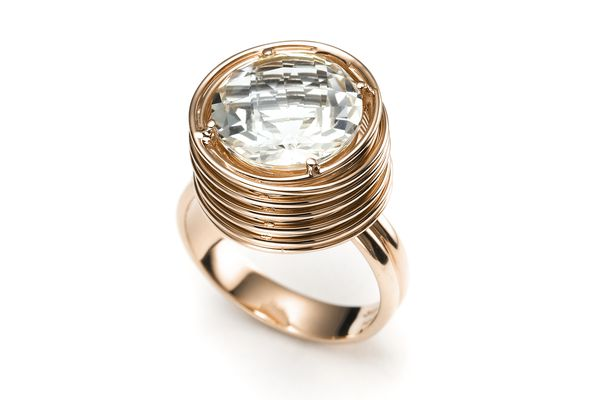 Round in the Round in Rose Gold