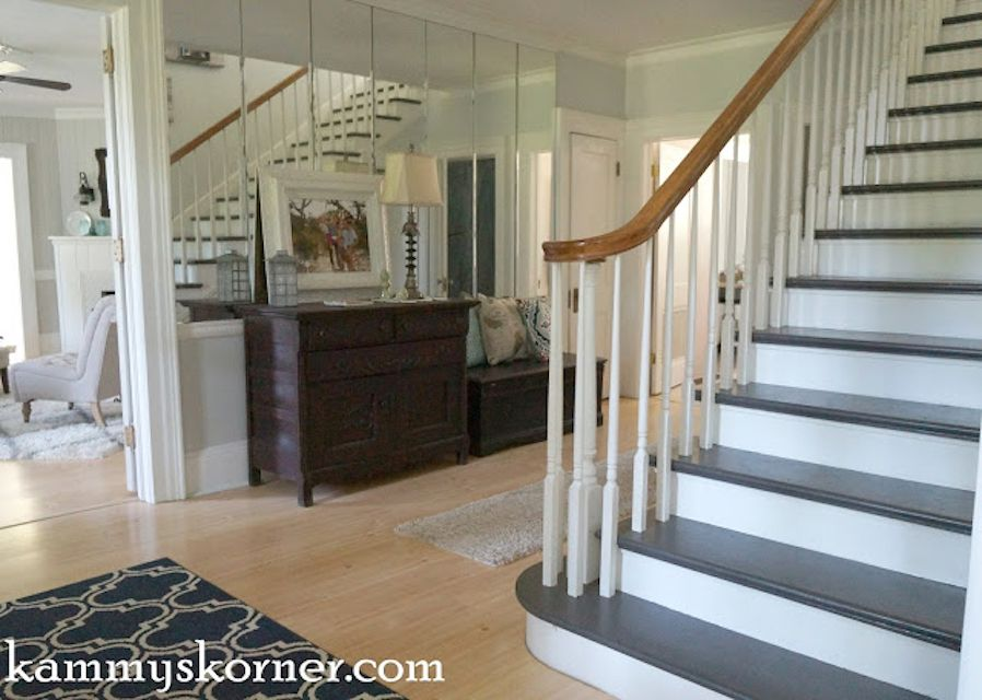 22 Gorgeous Painted Stair Ideas