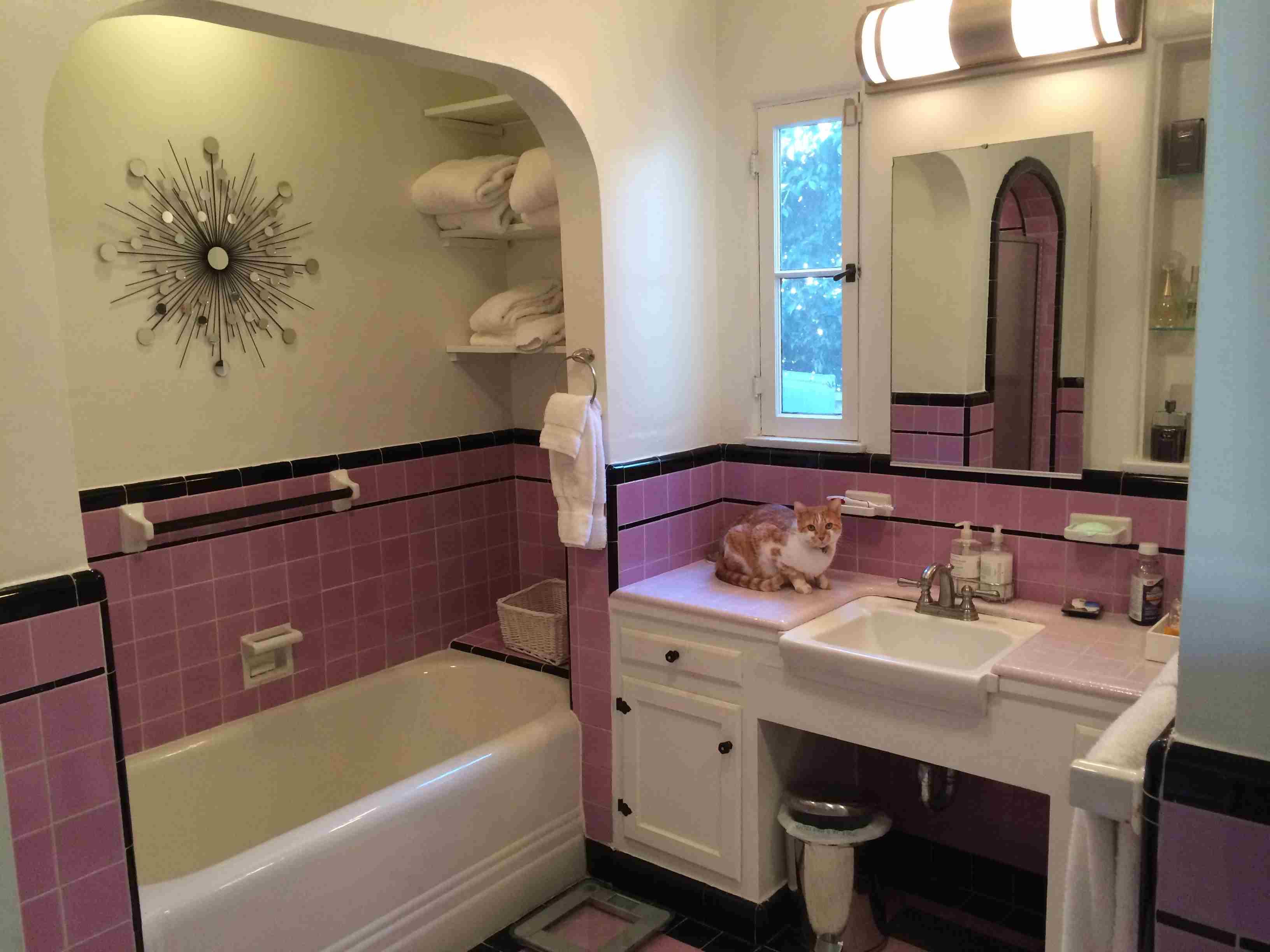 Deco Bathroom Makeover Before