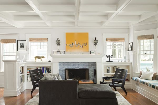 Living room in a craftsman