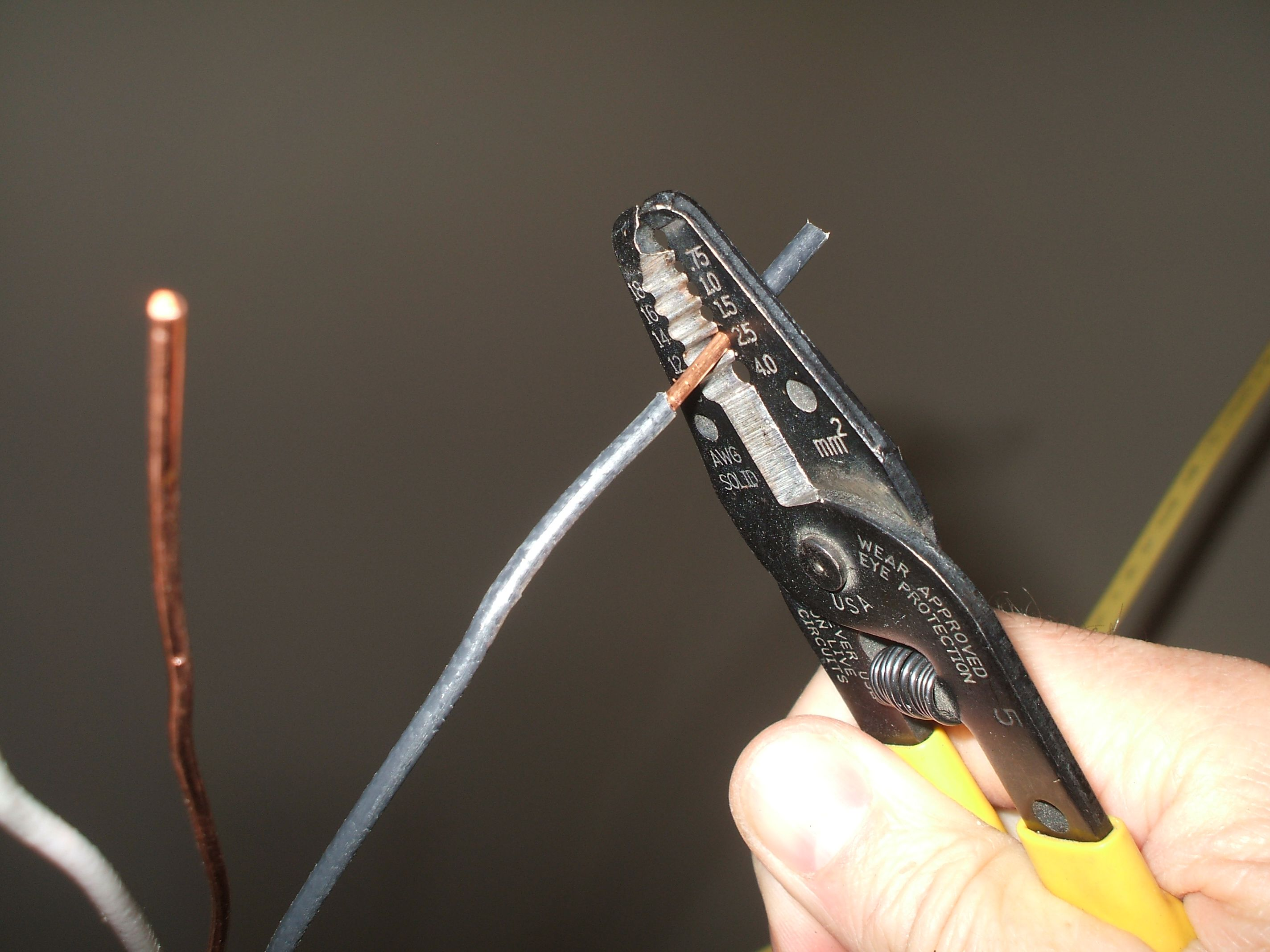 How To Splice Electrical Wire Basement Wiring Gauge