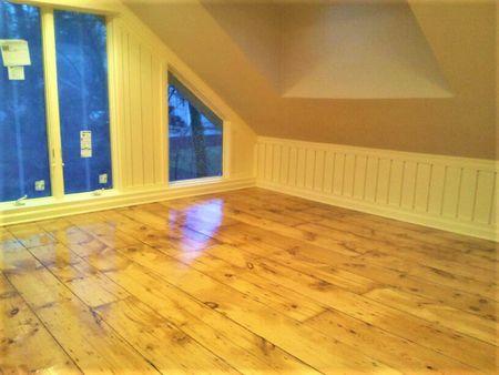 Plank Flooring For Attic Remodel
