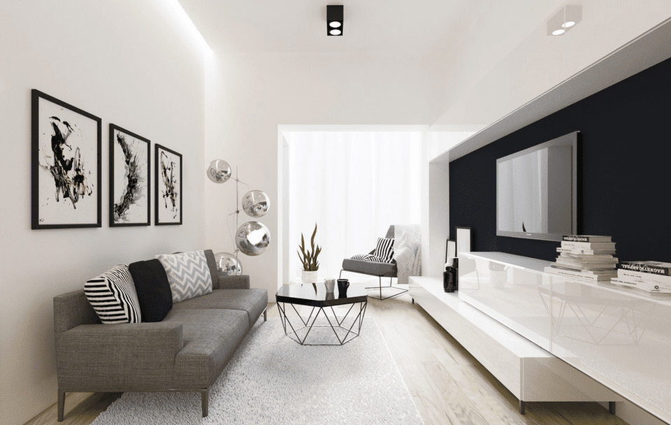 Modern black and white living room 58a0a2145f9b58819cd58cb5