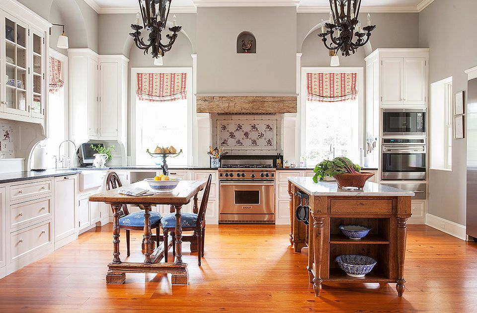 Virginian gray kitchen paint color