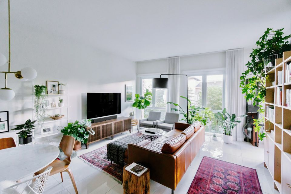Home with open floorplan