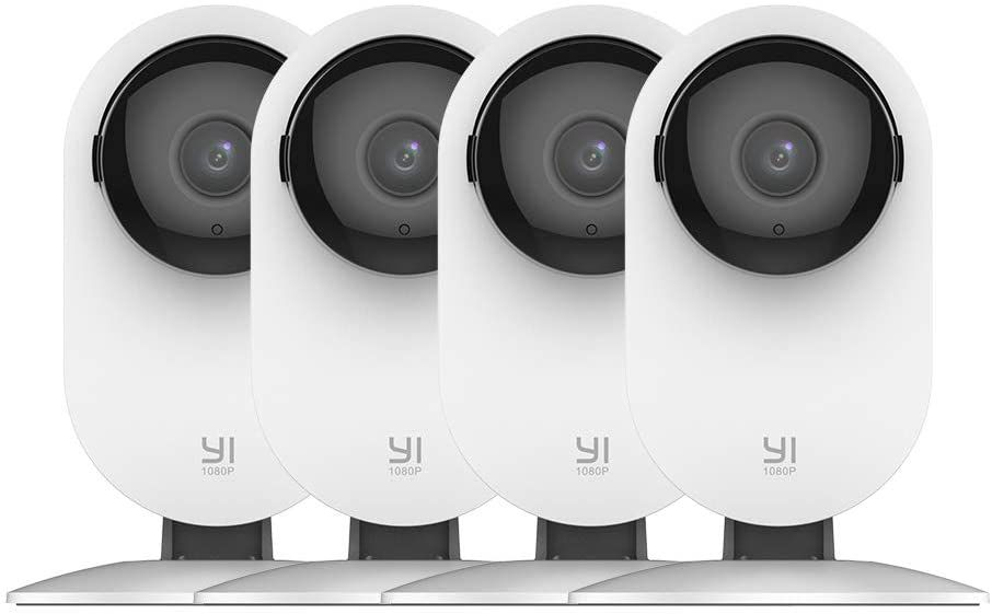 YI 4 Piece Home Camera Security Surveillance System