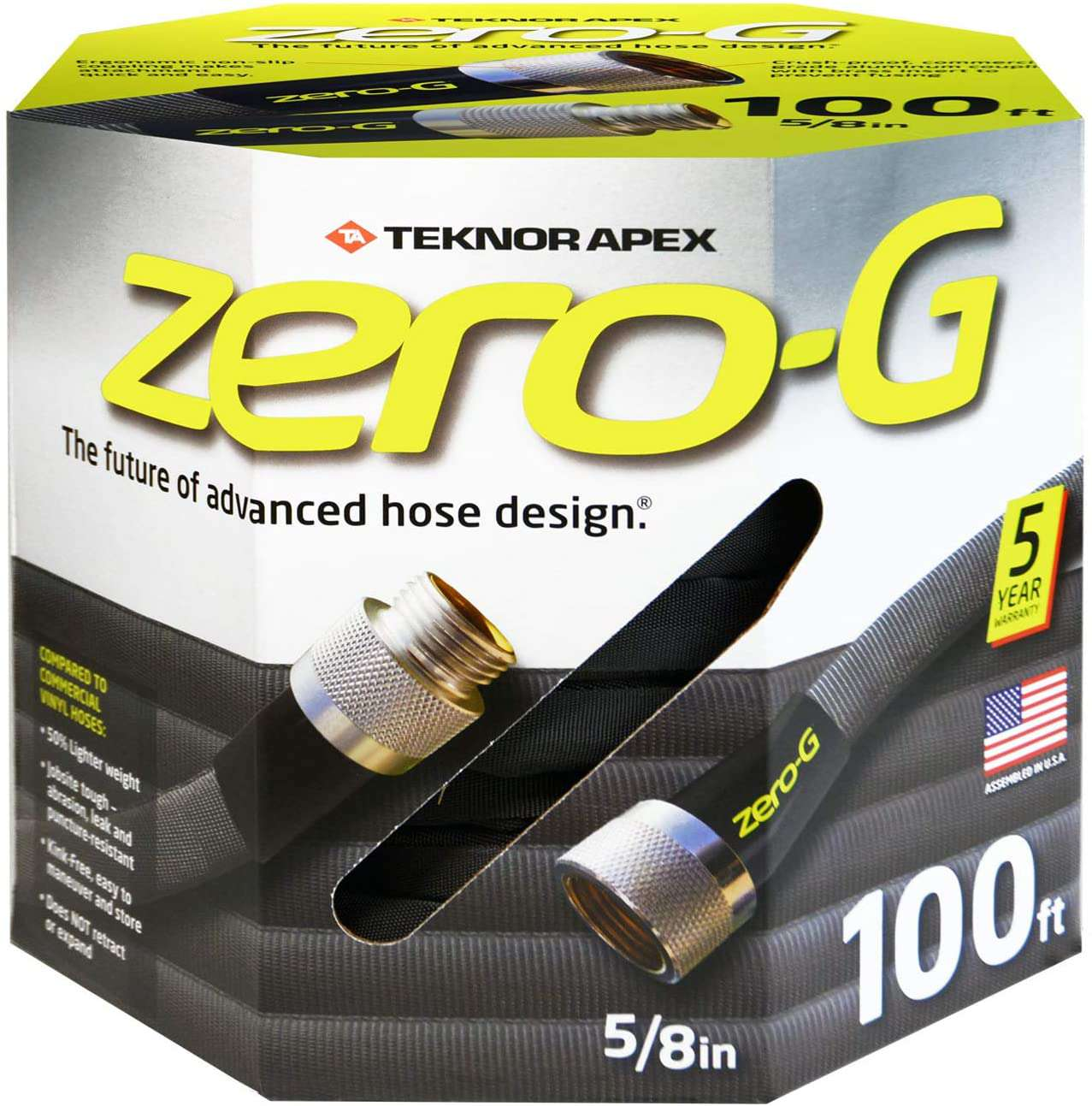 Zero-G Premium-Duty Kink Free Woven Hose