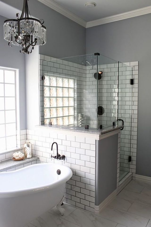Remodel Small Bathroom With Shower.15 Beautiful Small Bathroom Designs