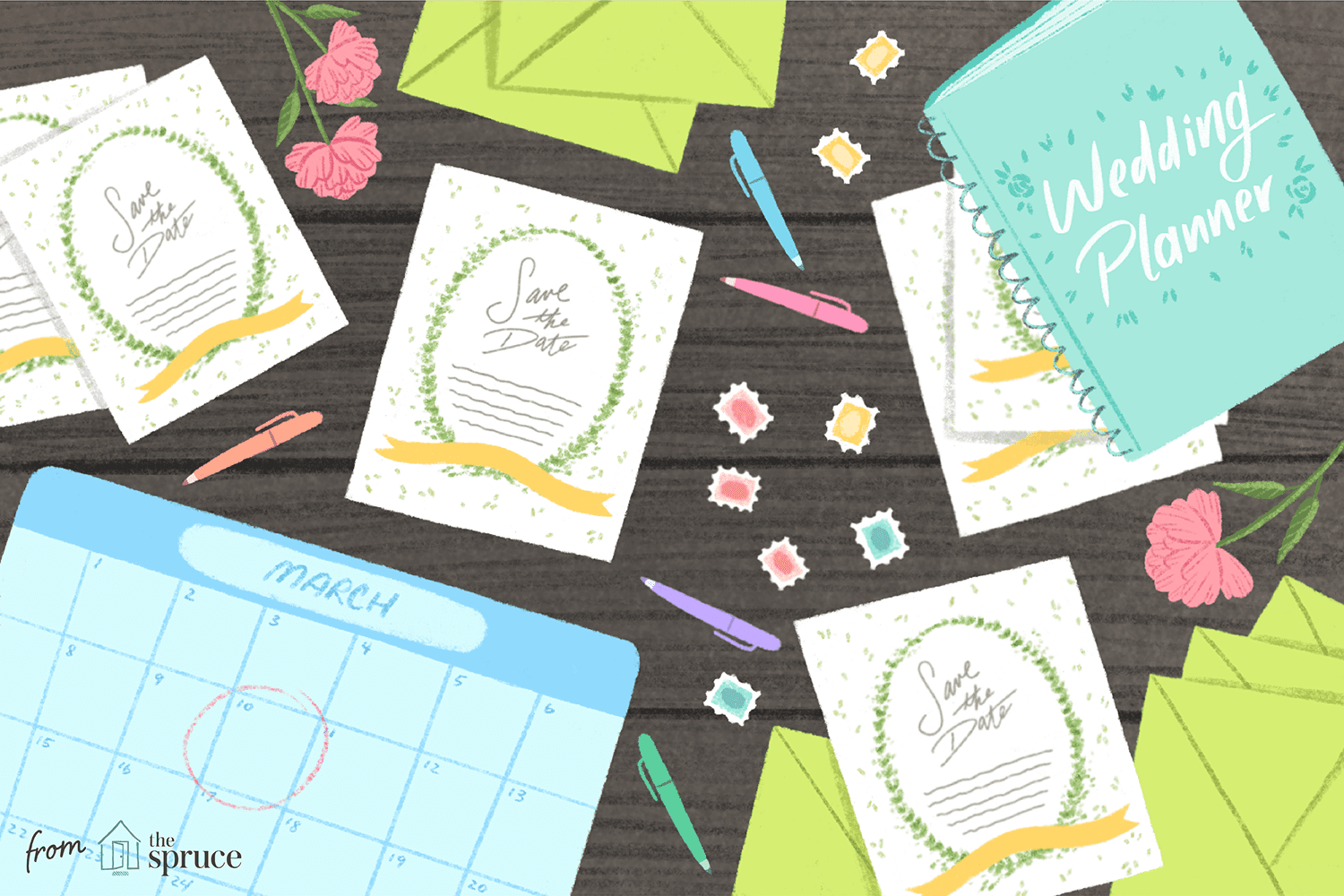 11 Free Save The Date Templates