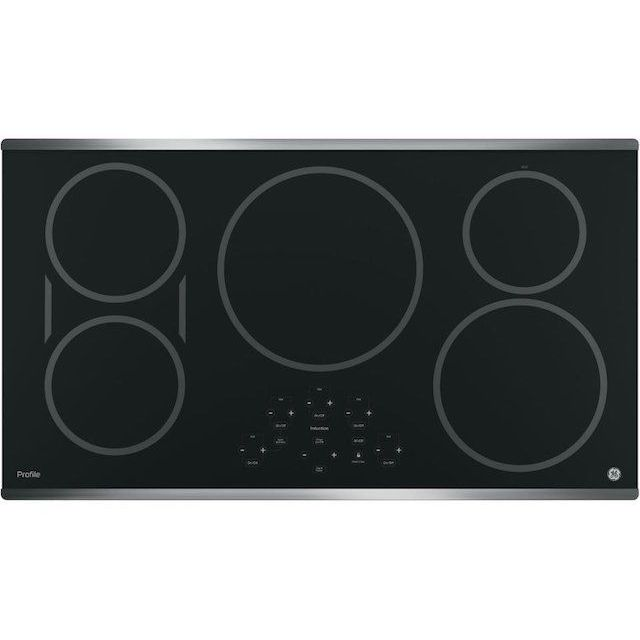 "GE PHP9036SJSS Profile 36"" Stainless Steel Electric Induction Cooktop"