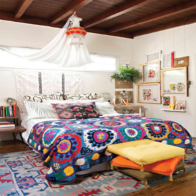22 beautiful boho bedroom decorating ideas - Boho Bedroom Ideas