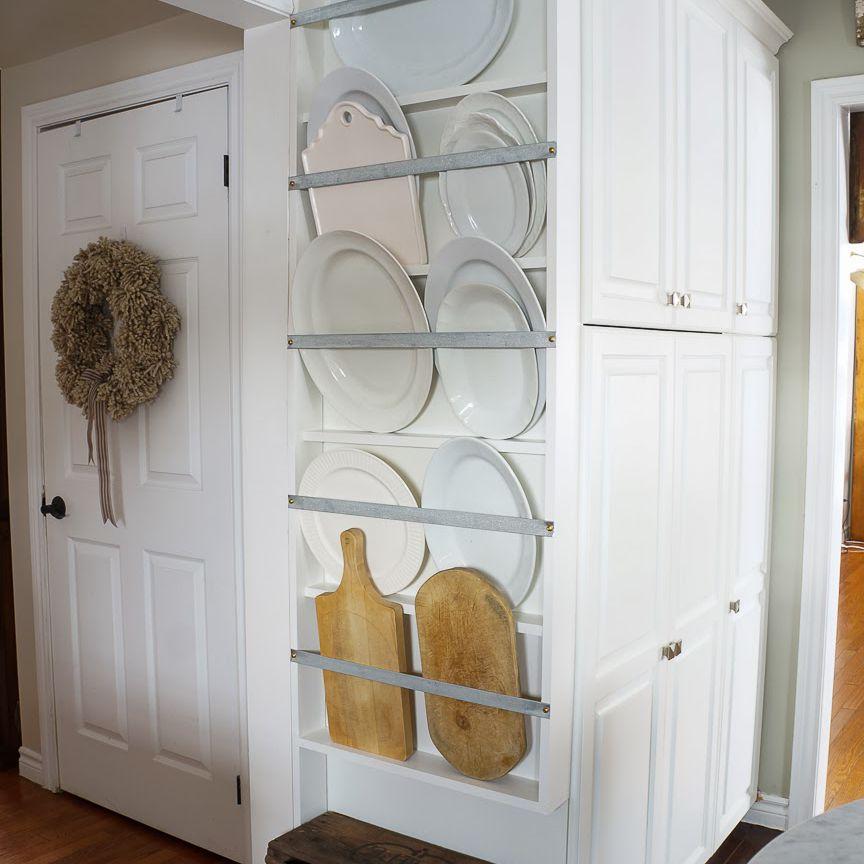 wall dish rack