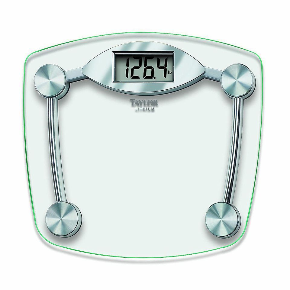Best Budget: Taylor Glass and Chrome Digital Scale