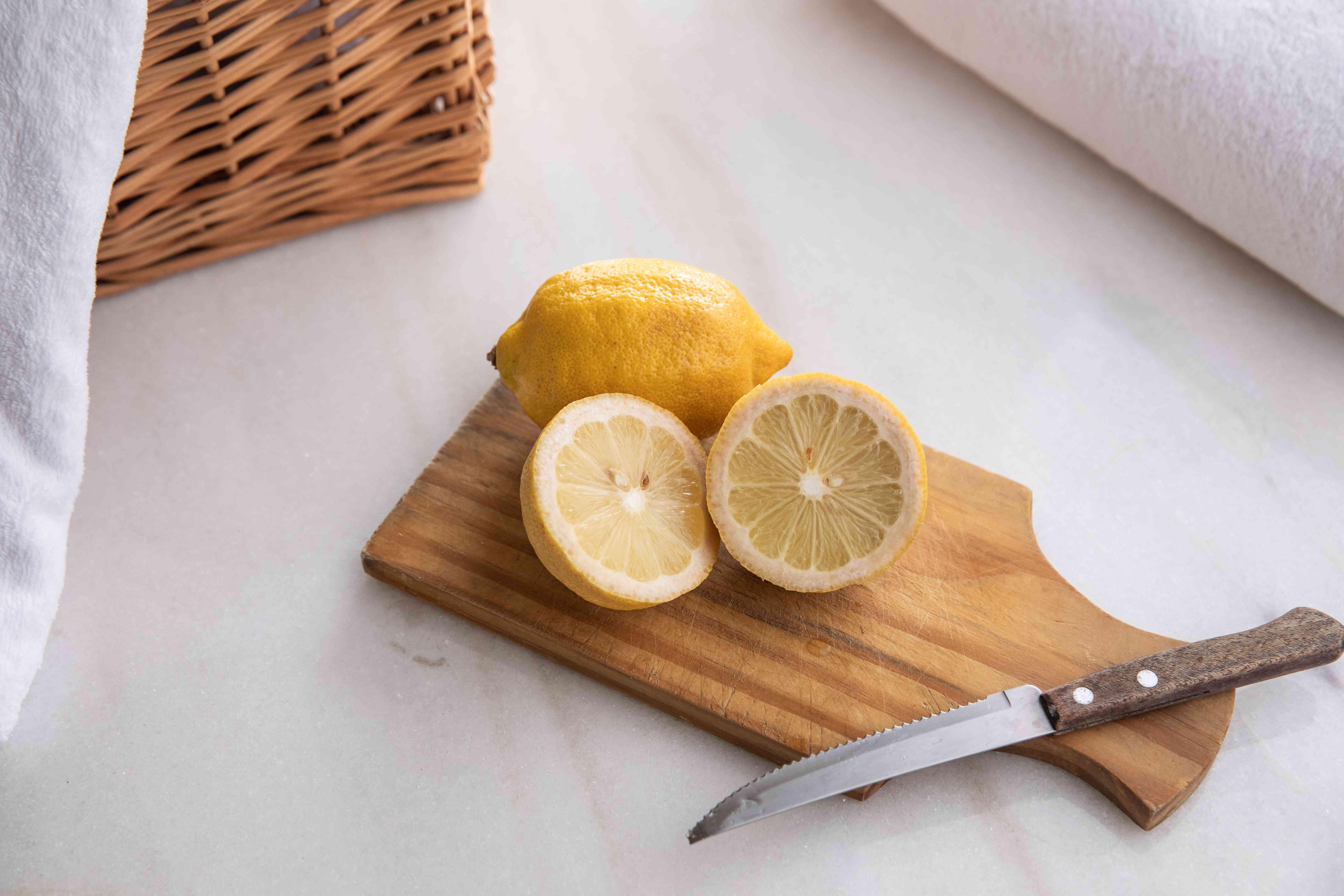 lemons for laundry use
