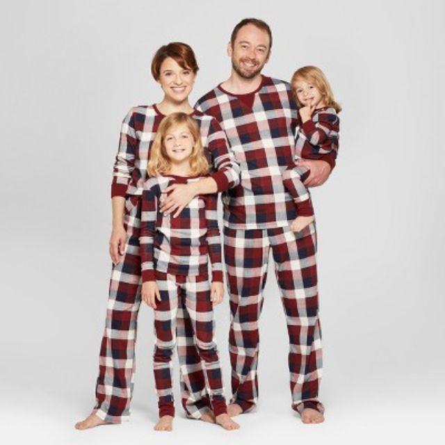best plaid target red plaid family pajamas collection - Cheap Christmas Pajamas