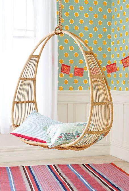 6 sillas colgantes de burbujas encantadoras para niños