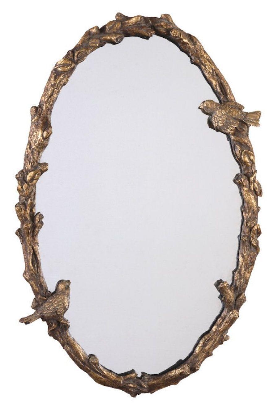 Birds Oval Mirror
