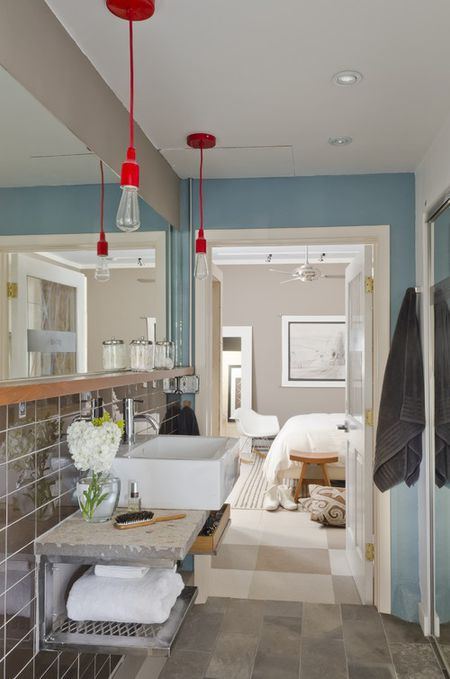 modern farmhouse bathroom - Modern Farmhouse Bathroom