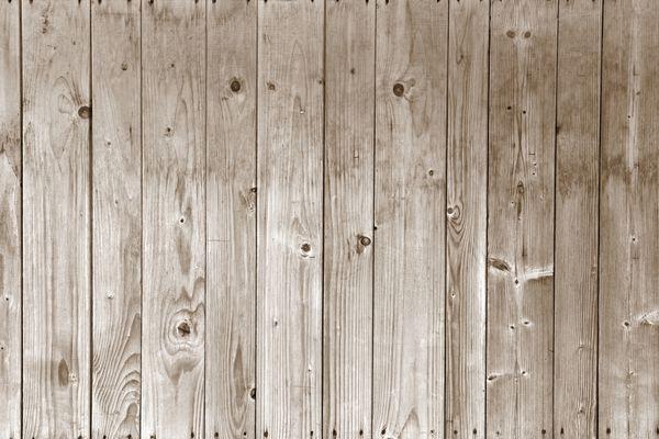 Bleached Wood Floor