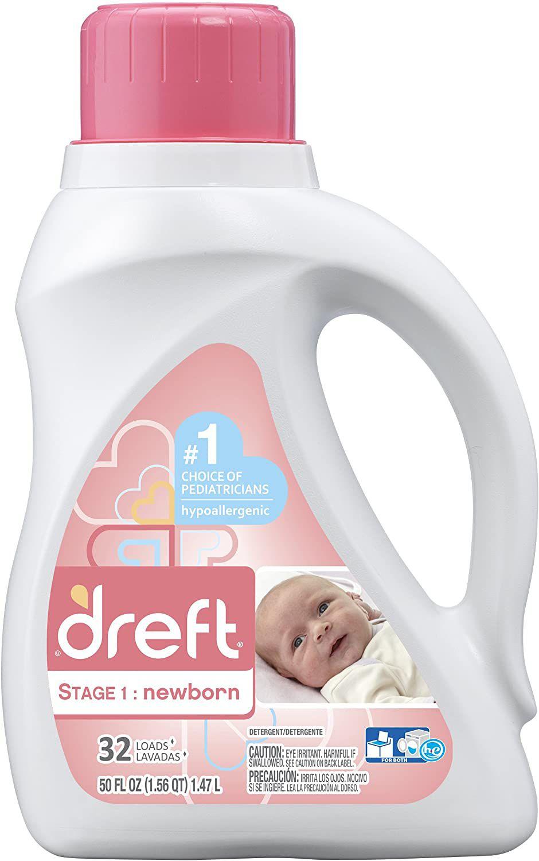 Dreft Newborn 64 Loads Baby Liquid Laundry Detergent