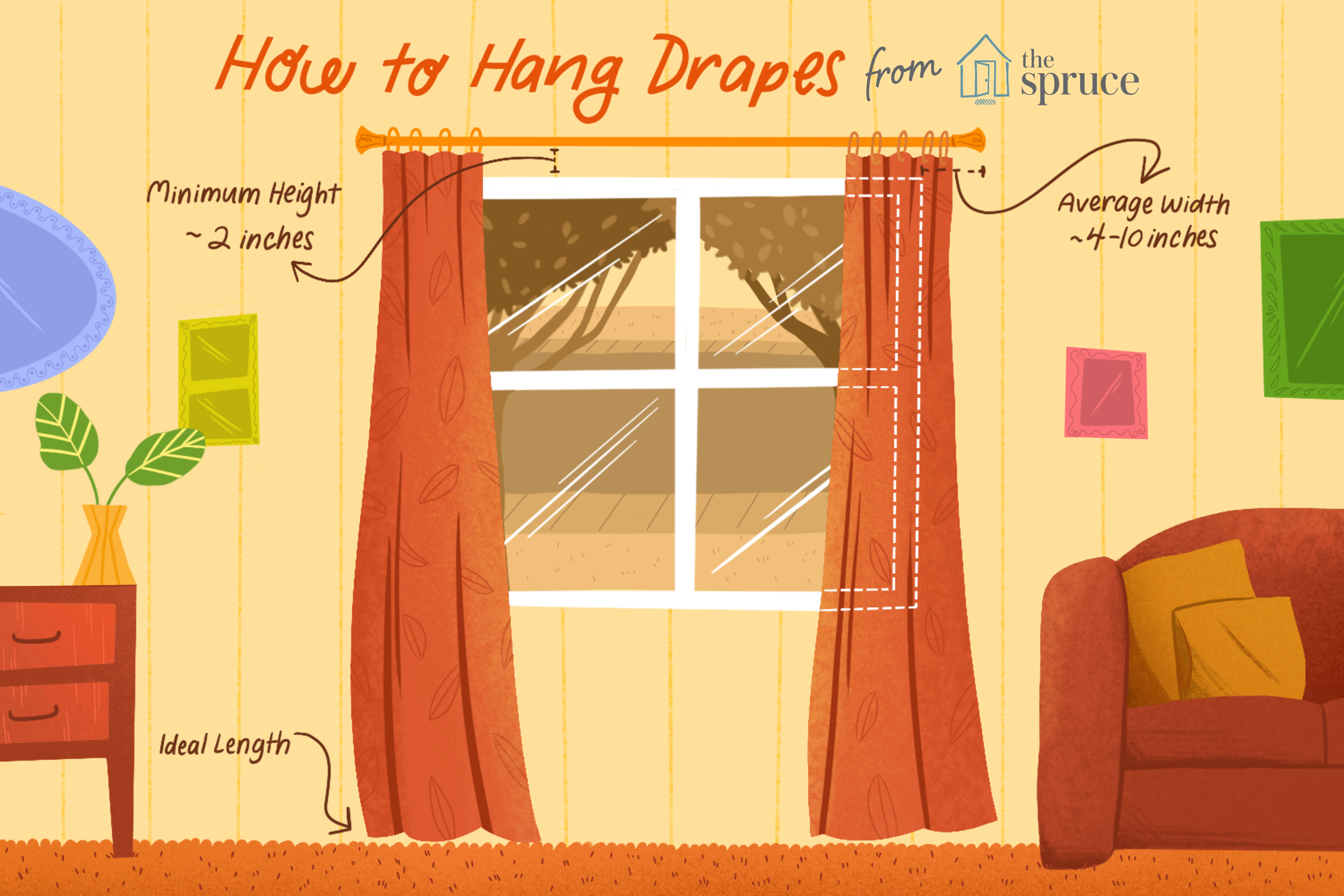 Designer Tips On How To Hang Drapes,Color Code Personality Test Results