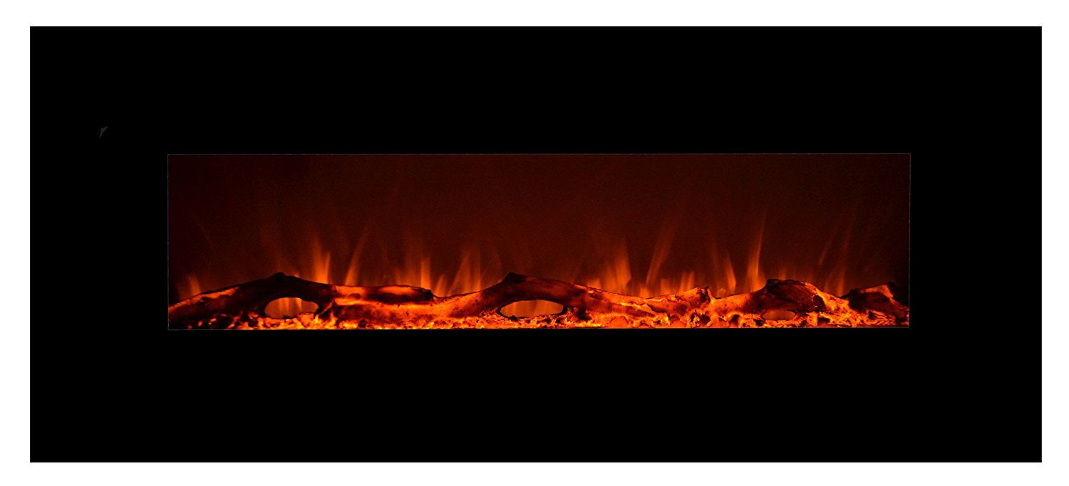 Best Overall Touchstone 80001 Onyx Wall Hanging Electric Fireplace