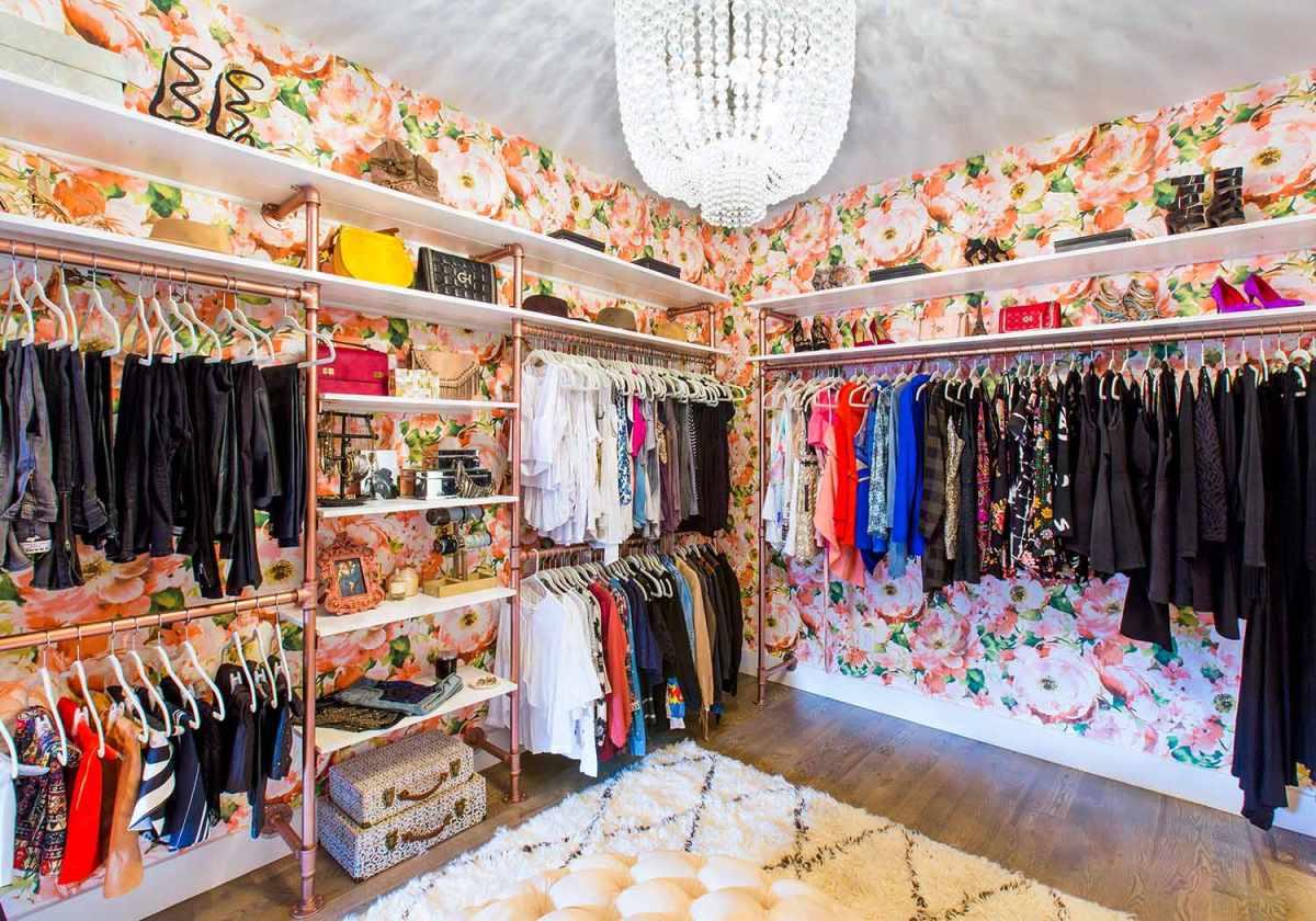 idea de armario floral