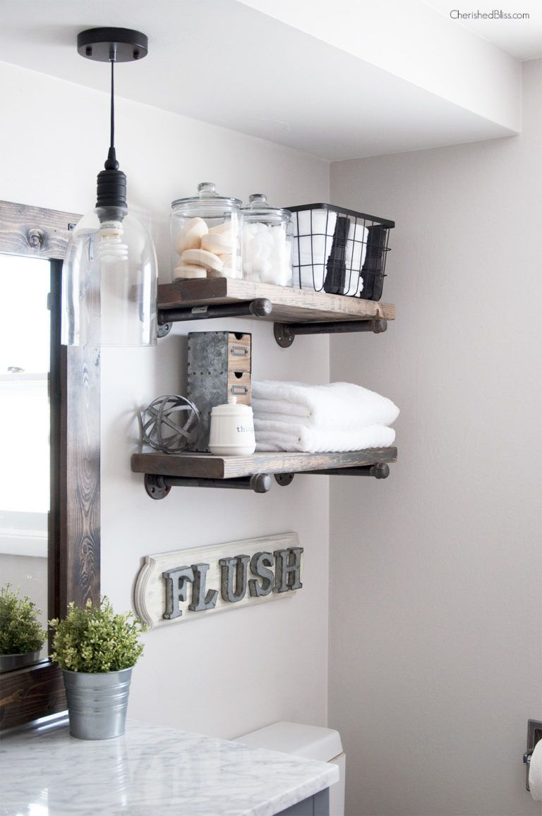 17 small bathroom shelf ideas Bathroom Shelf Ideas