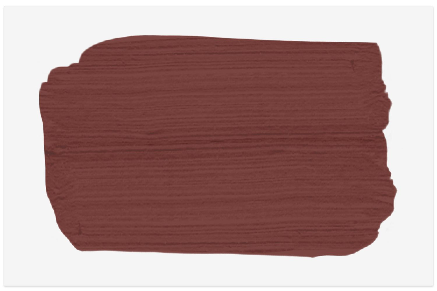 Rustic Red paint swatch from Sherwin Williams