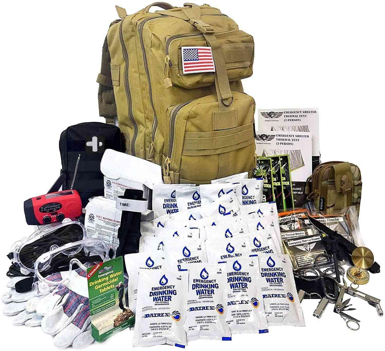 Everlit Complete Earthquake Bug Out Bag