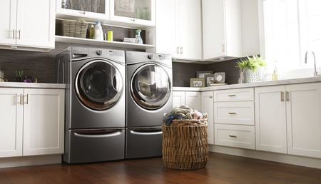 Water Standing In Whirlpool Duet Washer