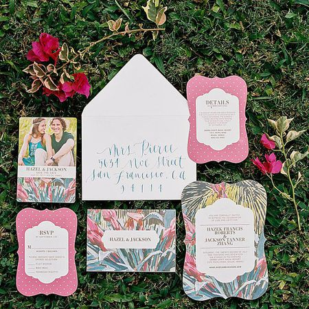 Where to request free wedding invitation samples a wedding invitation suite in the grass stopboris Choice Image