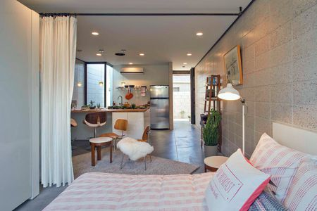 Groovy 12 Perfect Studio Apartment Layouts That Work Interior Design Ideas Tzicisoteloinfo