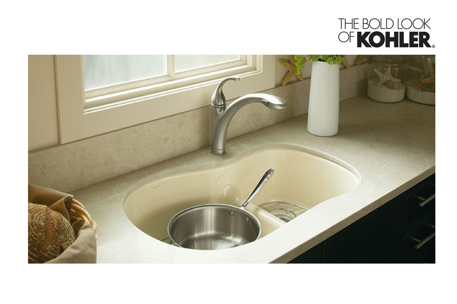 Kohler Woodfield With Smart Divide K-5839-5U-0