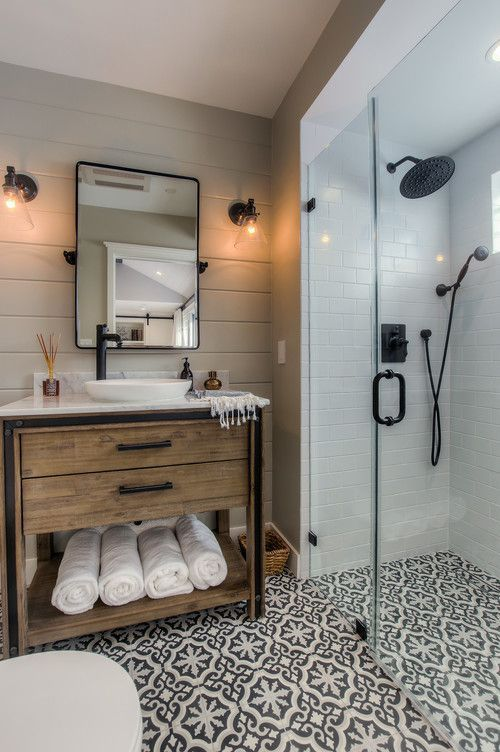 16 modern farmhouse bathrooms - Modern Farmhouse Bathroom