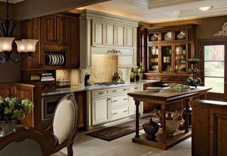 Kitchen Design Photos - Traditional Style. Kitchen design photo