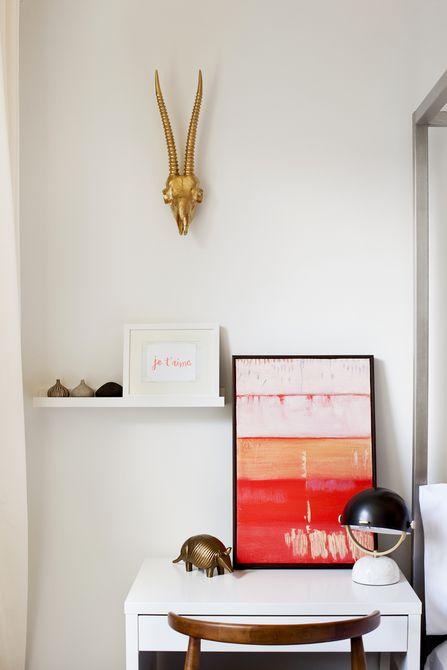Espacio de oficina en casa diseñado por Darlene Chimaliro