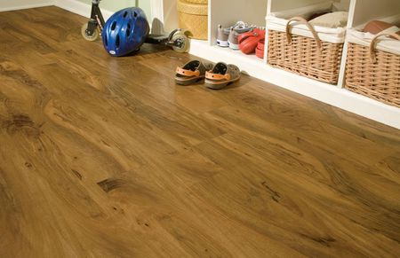 Walnut Luxury Vinyl Plank Flooring