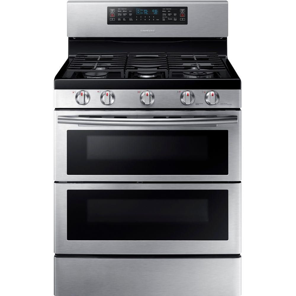 Best With Double Oven Samsung 30 Inch Gas Range