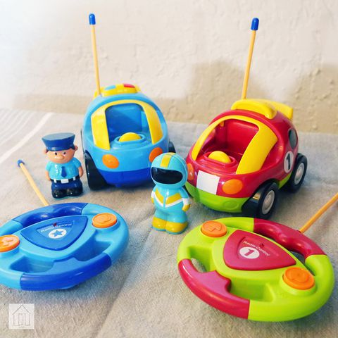 Prextex Cartoon Vehicles Review Remote Control Cars For Toddlers