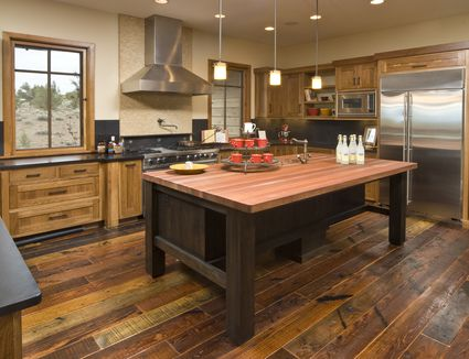 Gorgeous Kitchens With Wooden Flooring
