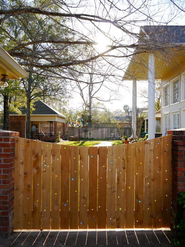 DIY Marble Fence