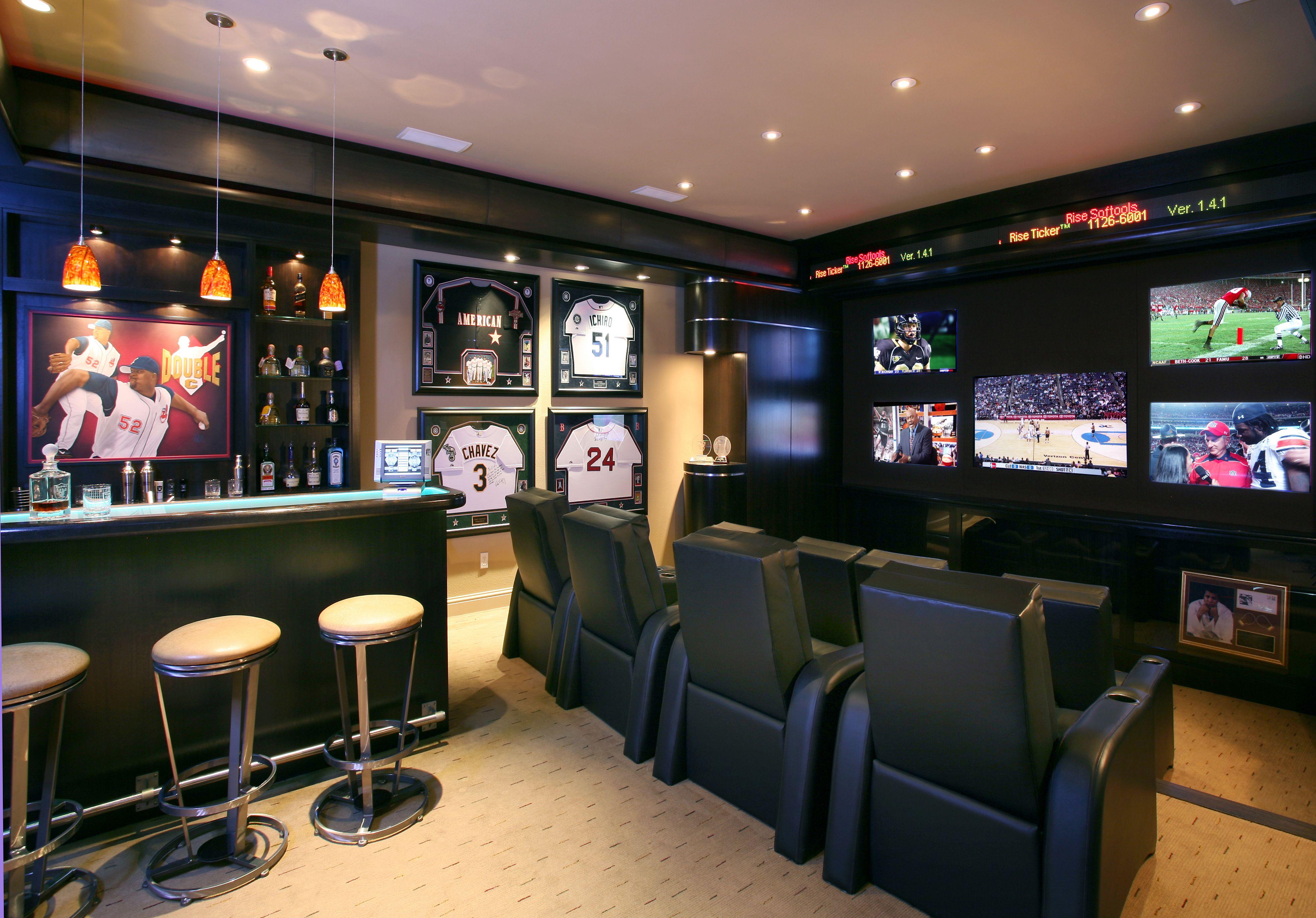 cine en casa con temática deportiva