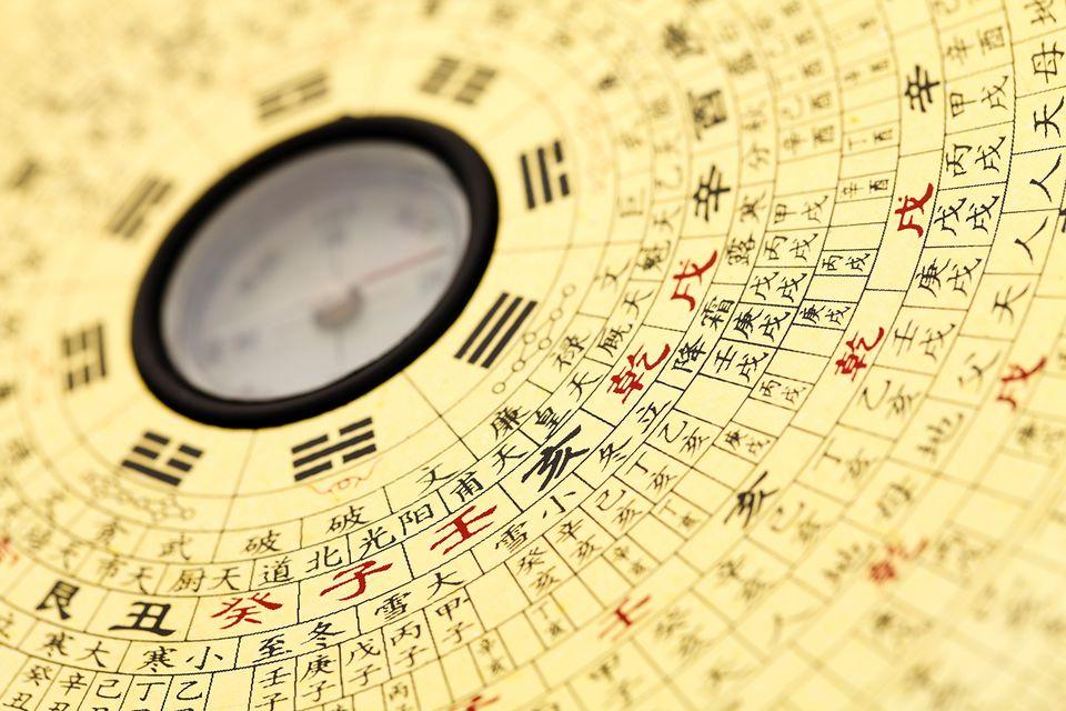 Feng shui compass.